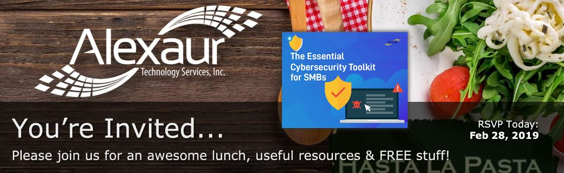 RSVP Lunch and Learn (Cybersecurity)